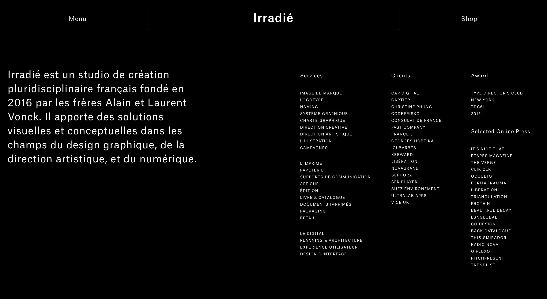 Irradié